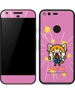 Aggretsuko Breaking Point Google Pixel Skin