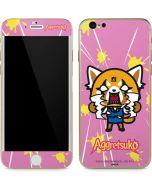 Aggretsuko Breaking Point iPhone 6/6s Skin