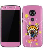Aggretsuko Breaking Point Moto E5 Play Skin