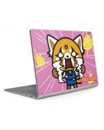 Aggretsuko Breaking Point Surface Book 2 13.5in Skin