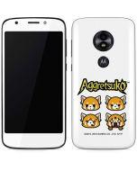 Aggretsuko Expressions Moto E5 Play Skin