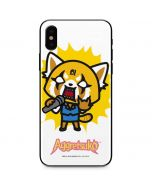 Aggretsuko Karaoke Queen iPhone X Skin
