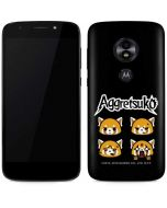 Aggretsuko Facial Expressions Moto E5 Play Skin