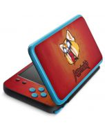 Aggretsuko Furious 2DS XL (2017) Skin