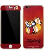 Aggretsuko Furious iPhone 6/6s Skin