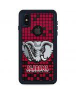 Alabama Crimson Tide Digi iPhone XS Waterproof Case