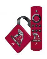 Alabama Crimson Tide Red Logo Amazon Fire TV Skin