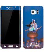 Aladdin and Jasmine Magic Carpet Galaxy S6 Edge Skin