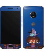 Aladdin and Jasmine Magic Carpet Moto G5 Plus Skin