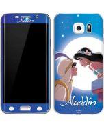 Aladdin and Princess Jasmine Galaxy S6 Edge Skin