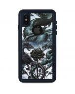 Alchemy - Caduceus Rex iPhone XS Waterproof Case