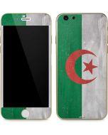 Algeria Flag Distressed iPhone 6/6s Skin
