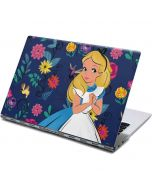 Alice in Wonderland Floral Print Yoga 910 2-in-1 14in Touch-Screen Skin