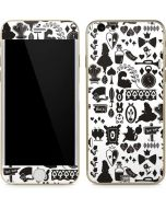 Alice in Wonderland Silhouette iPhone 6/6s Skin