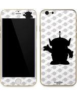 Alien Silhouette iPhone 6/6s Skin
