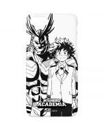 All Might and Deku Black And White iPhone 8 Lite Case