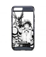 All Might and Deku Black And White iPhone 8 Plus Cargo Case