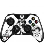 All Might and Deku Black And White Xbox One Controller Skin
