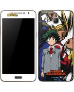 All Might and Deku Galaxy Grand Prime Skin