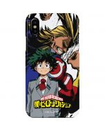 All Might and Deku iPhone XS Lite Case
