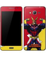 All Might Galaxy Grand Prime Skin