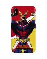 All Might iPhone XS Lite Case
