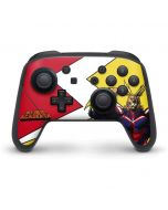 All Might Nintendo Switch Pro Controller Skin