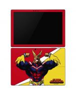 All Might Surface Pro 6 Skin