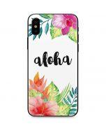 Aloha iPhone X Skin