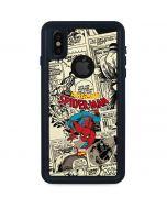 Amazing Spider-Man Comic iPhone X Waterproof Case