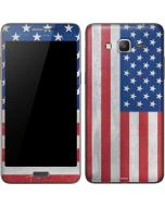 American Flag Distressed Galaxy Grand Prime Skin