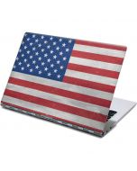 American Flag Distressed Yoga 910 2-in-1 14in Touch-Screen Skin