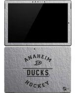 Anaheim Ducks Black Text Surface Pro (2017) Skin