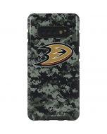 Anaheim Ducks Camo Galaxy S10 Plus Pro Case