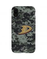 Anaheim Ducks Camo iPhone XR Pro Case