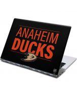 Anaheim Ducks Lineup Yoga 910 2-in-1 14in Touch-Screen Skin