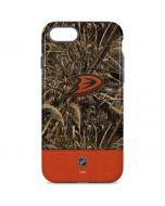 Anaheim Ducks Realtree Max-5 Camo iPhone 8 Pro Case