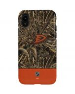 Anaheim Ducks Realtree Max-5 Camo iPhone XR Pro Case