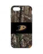 Anaheim Ducks Realtree Xtra Camo iPhone 8 Pro Case