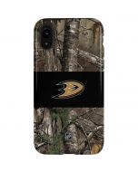 Anaheim Ducks Realtree Xtra Camo iPhone XR Pro Case