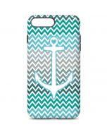 Anchor of Love- Aqua iPhone 7 Plus Pro Case