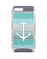 Anchor of Love- Aqua iPhone 8 Plus Cargo Case