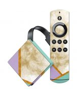 Angled Marble Amazon Fire TV Skin