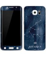 Aquarius Constellation Galaxy S6 Edge Skin