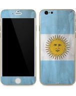 Argentina Flag Distressed iPhone 6/6s Skin