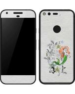 Ariel and Flounder Google Pixel Skin