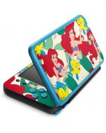 Ariel and Flounder Pattern 2DS XL (2017) Skin
