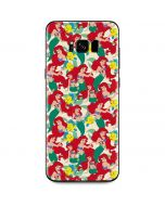 Ariel and Flounder Pattern Galaxy S8 Plus Skin