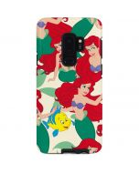 Ariel and Flounder Pattern Galaxy S9 Plus Pro Case