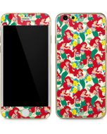Ariel and Flounder Pattern iPhone 6/6s Skin